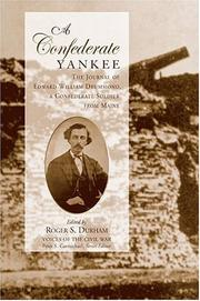 Cover of: A Confederate Yankee | Edward William Drummond