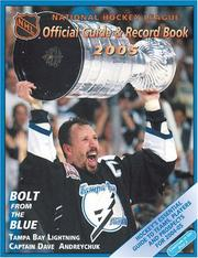 Cover of: Nhl Official Guide And Record Book 2005 | Dan Diamond