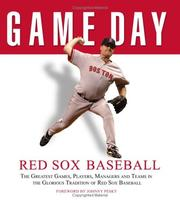 Cover of: Game Day: Red Sox Baseball