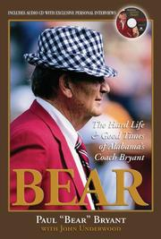 Cover of: Bear | Paul W. Bryant