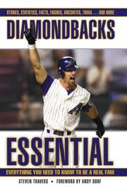 Cover of: Diamondbacks Essential | Steven Travers