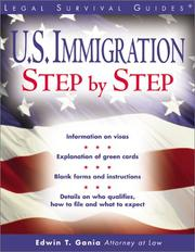 Cover of: U.S. Immigration Step by Step (Legal Survival Guides)