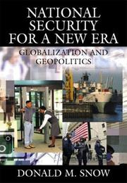 Cover of: National Security for a New Era
