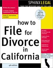 How to file for divorce in California by John Talamo