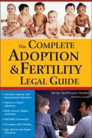 The Complete Adoption & Fertility Legal Guide (Sphinx Legal)