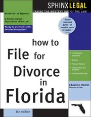 How to file for divorce in Florida by Edward A. Haman