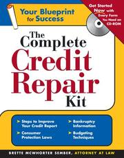 Cover of: The complete credit repair kit | Brette McWhorter Sember