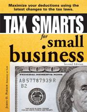 Cover of: Tax smarts for small business by