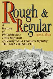 Cover of: Rough and regular | Larry B. Maier