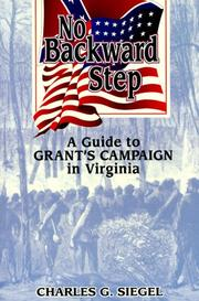 Cover of: No backward step | Charles G. Siegel