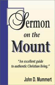 Cover of: Sermon on the mount