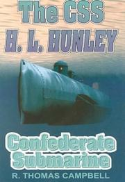 Cover of: The CSS H.L. Hunley