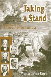 Cover of: Taking a Stand | Walter Brian Cisco