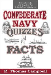 Cover of: Confederate Navy quizzes and facts
