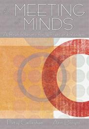 Cover of: A meeting of the minds | Patsy Callaghan