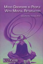 Cover of: Mood Disorders in People with Mental Retardation | Peter Sturmey
