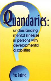 Cover of: Quandaries