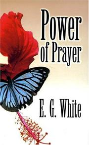 Cover of: Power of prayer