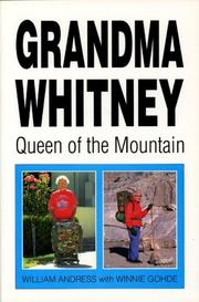 Cover of: Grandma Whitney  | William Andrees