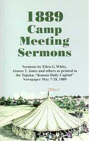 Cover of: The 1889 camp meeting sermons