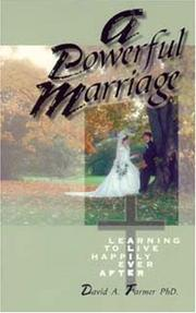Cover of: A powerful marriage