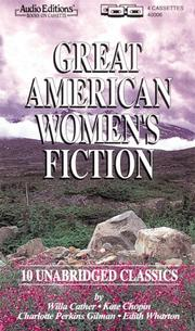 Cover of: Great American Women's Fiction: Ten Unabridged Classics