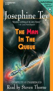 Cover of: The Man in the Queue