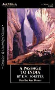 Cover of: A Passage to India