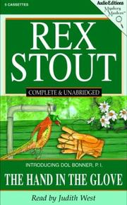 Cover of: The Hand in the Glove (Stout, Rex)