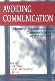 Cover of: Avoiding communication |