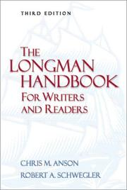 Cover of: The Longman handbook for writers and readers