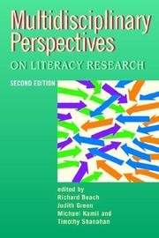 Cover of: Multidisciplinary Perspectives on Literacy Research (Language & Social Processes) (Language & Social Processes) |