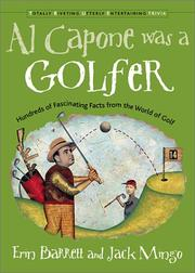 Cover of: Al Capone was a golfer | Erin Barrett