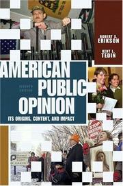 Cover of: American public opinion