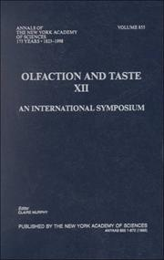 Olfaction and Taste XII