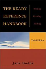 Cover of: The Ready Reference Handbook |