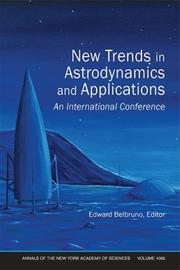 Cover of: New Trends in Astrodynamics and Applications | Edward Belbruno