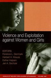 Cover of: Violence and Exploitation Against Women and Girls
