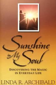 Cover of: Sunshine in my soul