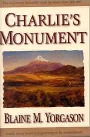 Cover of: Charlie's monument