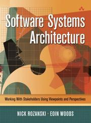 Cover of: Software Systems Architecture | Nick Rozanski