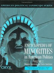 Cover of: Encyclopedia of minorities in American politics |