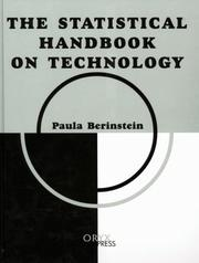 Cover of: The Statistical Handbook on Technology