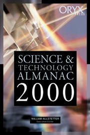 Cover of: Science & Technology Almanac | William Allstetter
