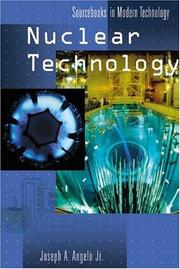 Cover of: Nuclear Technology (Sourcebooks in Modern Technology)