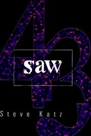 Cover of: Saw | Steve Katz