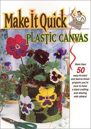 Cover of: Make it quick plastic canvas. |