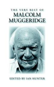 Cover of: The Very Best of Malcolm Muggeridge