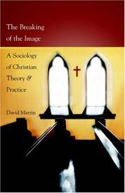 Cover of: The Breaking of the Image | David Martin (undifferentiated)
