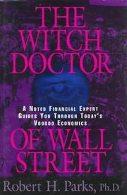 Cover of: The witch doctor of Wall Street | Robert H. Parks
